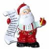 Item # 459038 - Santa's List Christmas Ornament