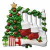 Item # 459041 - Bannister With 2 Stockings Christmas Ornament