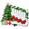 Item # 459043 - Bannister With 4 Stockings Ornament