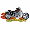 Item # 459055 - Harley Motorcycle Christmas Ornament