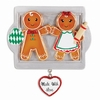 Item # 459061 - Made With Love Family of 2 Gingerbread Ornament