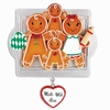 Item # 459063 - Made With Love Family of 4 Gingerbread Ornament