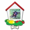 Item # 459070 - Dog House Photo Frame Christmas Ornament