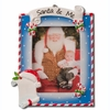 Item # 459071 - Santa & Me Photo Frame Christmas Ornament