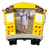 Item # 459073 - School Bus Photo Frame Christmas Ornament