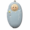 Item # 459088 - Blue Baby Boy Christmas Ornament