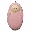 Item # 459089 - Pink Baby Girl Christmas Ornament