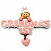 Item # 459091 - Pink Grandma's First Girl Christmas Ornament