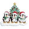 Item # 459097 - Penguin Family of 3 Christmas Ornament