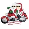 Item # 459111 - Mr./Mrs. Claus Motorcycle Ornament