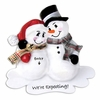Item # 459115 - We're Expecting Snowman Ornament