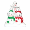 Item # 459121 - North Pole Family of 2 Ornament