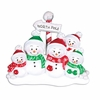 Item # 459124 - North Pole Family of 5 Ornament