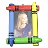 Item # 459125 - Crayon Photo Frame Christmas Ornament