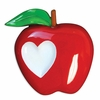 Item # 459131 - Teacher Apple Christmas Ornament