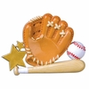 Item # 459132 - Baseball Glove Christmas Ornament