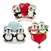 Item # 459133 - Penguin Couple With Heart Ornament