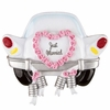 Item # 459135 - Just Married Car Christmas Ornament