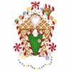 Item # 459140 - Gingerbread House Christmas Ornament