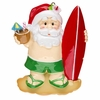 Item # 459144 - Santa On Vacation Christmas Ornament
