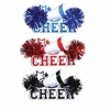 Item # 459154 - Blue/Red/Black Cheer Ornament