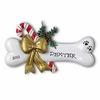 Item # 459162 - Dog Bone With Holly Christmas Ornament