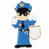 Item # 459175 - Police Officer Christmas Ornament