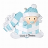 Item # 459178 - Baby Boy In Present Ornament