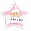 Item # 459185 - Girl On Star Ornament