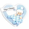 Item # 459186 - Boy In Heart Christmas Ornament