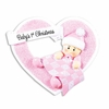 Item # 459187 - Girl In Heart Ornament
