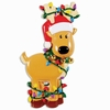 Item # 459196 - Deer Tangled In Lights Christmas Ornament