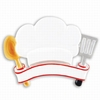 Item # 459200 - Personalizable Chef's Hat Ornament