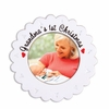 Item # 459245 - Grandma's First Christmas Grandbaby Photo Frame