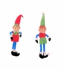 Item # 483033 - Red/Blue/Green Pixie Christmas Ornament