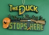 Item # 483041 - Duck Stops Here Christmas Ornament