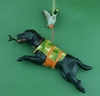 Item # 483121 - Hunting Dog With Duck Ornament