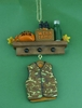 Item # 483257 - Real Men Wear Camo Christmas Ornament