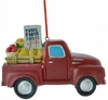 "Item # 483285 - 3.5"" Red Farm Truck Ornament"