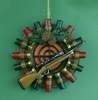 Item # 483299 - Target/Shell Wreath Christmas Ornament