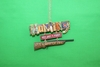 Item # 483312 - Hunting Sign Christmas Ornament