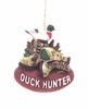 Item # 483342 - Duck Hunter With Boots Christmas Ornament