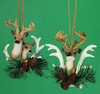 Item # 483403 - Deer Head Christmas Ornament