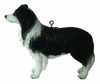"Item # 483477 - 4"" Border Collie Christmas Ornament"