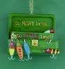 Item # 483516 - So Many Lures Christmas Ornament