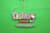 Item # 483571 - Fishing Sign Christmas Ornament