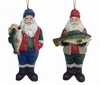 "Item # 483594 - 4"" Fisherman Santa Ornament"