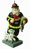 "Item # 483598 - 4.7"" Santa Fireman Ornament"