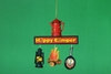 Item # 483627 - Camping Sign Ornament