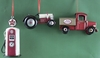 Item # 483649 - Vintage Gas Pump/Farm Vehicle Ornament